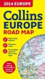 2014 Collins Map of Europe (Road Map)
