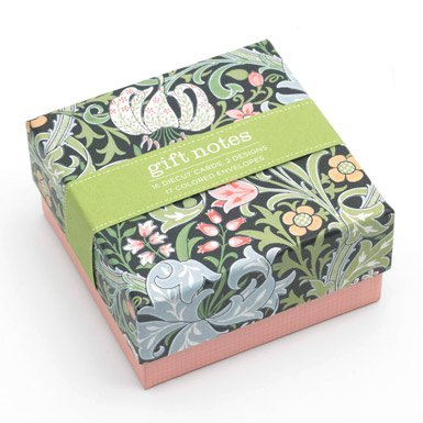 William Morris Mini Notecards||RF10F