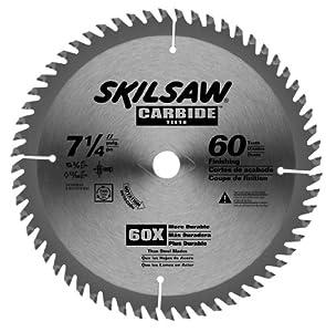 SKIL 74760B25 7-1/4-Inch by 60T Carbide Circular Saw Blade, 25-Pack