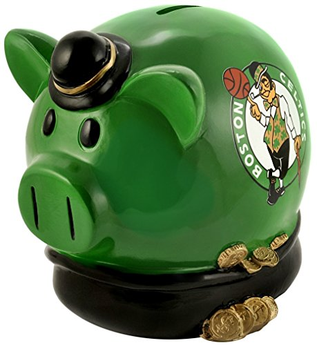 Boston Celtics Small Thematic Piggy Bank