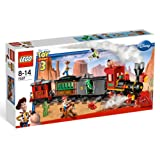 Lego - 7597 - Jeux de construction - lego toy story - Course poursuite dans le train du Far Westpar LEGO