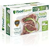 "FoodSaver 8"" & 11"" Rolls, Multi-Pack"