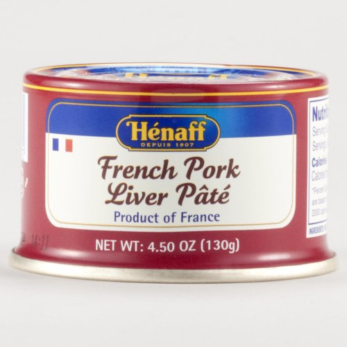 henaff pork liver pate 4 5 oz pack of 3