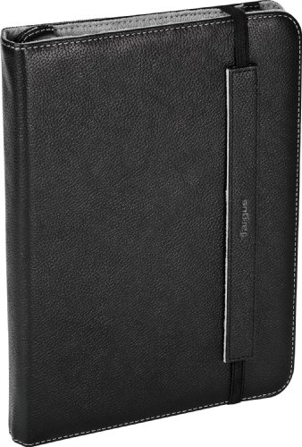 Targus Truss Leather Case and Stand for Motorola Xoom WiFi/3G - THZ06902US (Black/Gray)