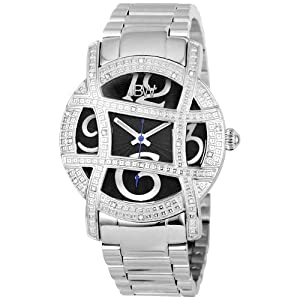 "JBW Women's JB-6214-C ""Olympia""Stainless Steel Designer Dial Diamond Watch"