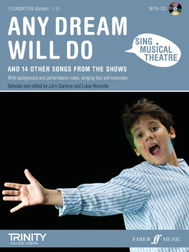 Any Dream Will Do Book & CD (Sing Musical Theatre)