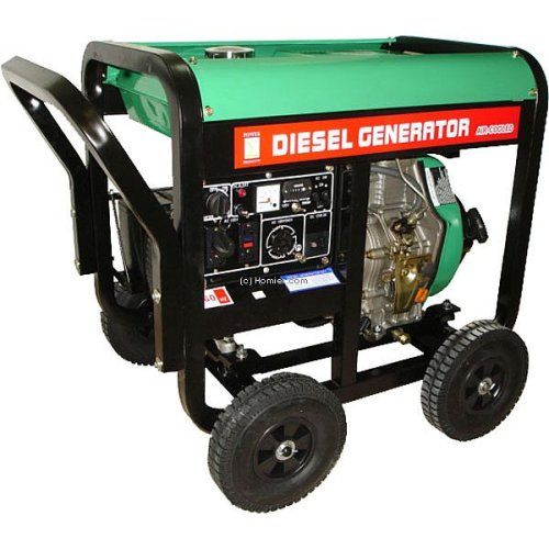 Blue Max GEN6000LHE 6000 Watt Diesel Powered Generator