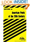 CliffsNotes American Poets of the 20th Century (Cliffsnotes Literature Guides)