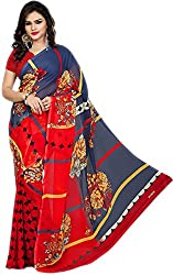 Royalty Wears Women's Chiffon Saree (5078)