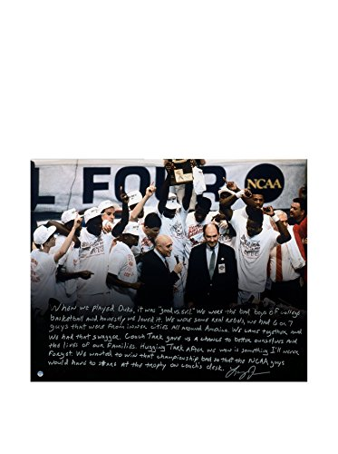 Steiner Sports Memorabilia Larry Johnson Signed UNLV Story Photo, 16