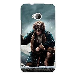 Jugaaduu LOTR Hobbit Back Cover Case For HTC One M7