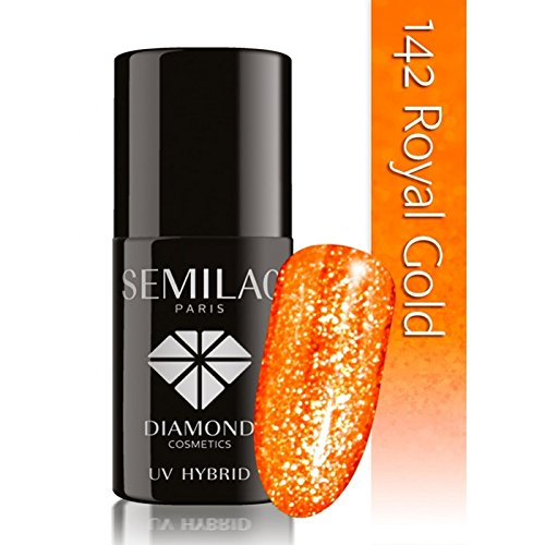 SEMILAC Royal Gold 142 UV LED Gel Hybrid by Semilac Paris