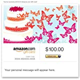 Amazon Gift Card – E-mail – Wedding Butterflies