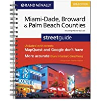 Rand McNally Miami-Dade, Broward & Palm Beach Counties Florida street guide, 12th Edition