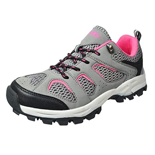 air balance s hiking shoes black grey pink