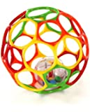 "6"" Oball Big Rattle (Colors May Vary)"