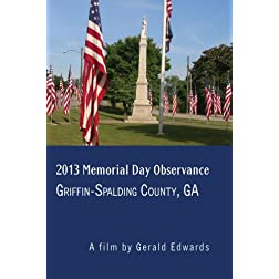 2013 Memorial Day Observance