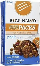 Bear Naked To Go Granola Pouches - Original Cinnamon Protein - 5 ct