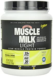 CytoSport Muscle Milk Light, Banana Creme, 1.65 Pound