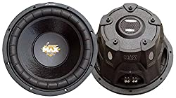 Lanzar MAXP64 Max Pro 6.5-Inch 600-Watt Small-Enclosure 4-Ohm Subwoofer