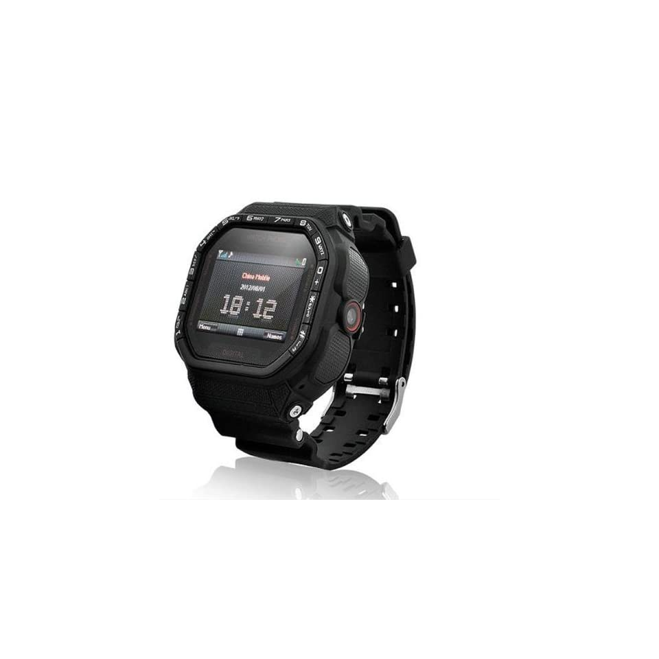 Gd930 Wrist Watch Cell Phone 1.5inch Touch Screen Camera Bluetooth Fm