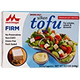 Mori-Nu Tofu, Silken Firm, 12.3-Ounce Boxes (Pack of 12)