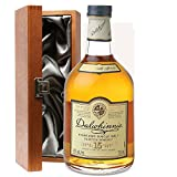 Dalwhinnie 15 Year Old Single Malt Whisky 70cl Bottle In Luxury Silk Lined Gift Box with Hand Crafted Gifts2Drink Tag