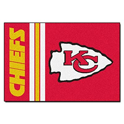 Fanmats NFL Kansas City Chiefs Nylon Rug