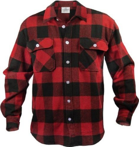 EXTRA HEAVYWEIGHT BRAWNY FLANNEL SHIRT - 4 XL