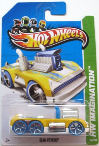 Hot Wheels Semi-Psycho Future Fleet (HW Imagination) 58/250 - 1