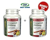 Simply Supplements Cinnamon 2000mg Bundle Deal 240 Tablets in total by Simply Supplements