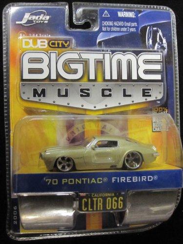 70 Pontiac Firebird (metallic gold) Dub City Bigtime Muscle By Jada - 1