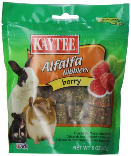 Kaytee Nibblers Berry Small Animal Treats, 5-oz bag 51kNOTBjJJL