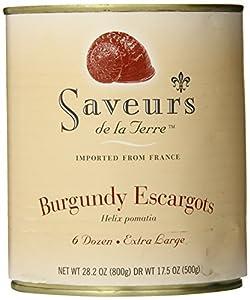 Saveurs de la Terre Burgundy Escargots, 72-count