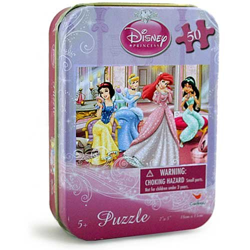 Disney Princess 50-Piece Puzzle in Tin - 1