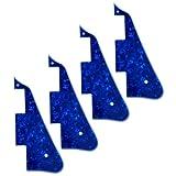 4 Pcs Blue Pearl 3PLY New-Pickguard For Les Paul Standard