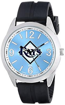 "Game Time Men's MLB-VAR-TB ""Varsity"" Watch - Tampa Bay Rays"