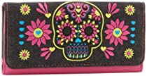 Loungefly LFWA0285 Wallet,Black/Pink/Blue/Yellow,One Size