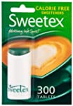 Sweetex Calorie Free Sweeteners Table...