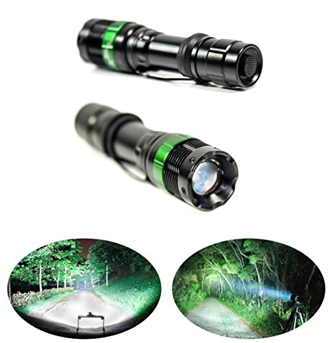 PREMIUM-Advance-LED-Tactical-Rechargeable-18650-Battery-LED-Flashlight-2000LM-WaterResistant-Adjustable-Zoom-Focus-Includes-Battery-Charger-For-Cycling-Camping-Hiking-Home-Many-more