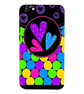 Color Bubbles 3D Hard Polycarbonate Designer Back Case Cover for Huawei Honor 4X :: Huawei Glory Play 4X