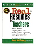 img - for Real-Resumes for Teachers book / textbook / text book