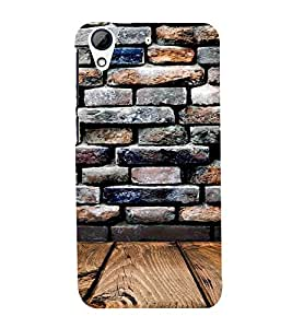 Wall and wood 3D Hard Polycarbonate Designer Back Case Cover for HTC Desire 626 :: HTC Desire 626 Dual SIM :: HTC Desire 626S :: HTC Desire 626 USA :: HTC Desire 626G+ :: HTC Desire 626G Plus