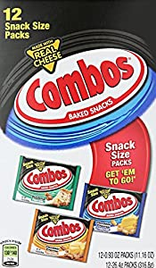 Combos Fun Size Baked Snacks Variety Pack, 12 Count