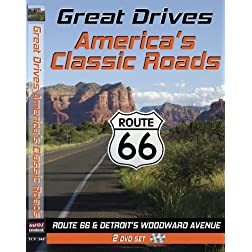 Great Drives: Route 66, America's Classic Roads, Detroit's Woodward Avenue