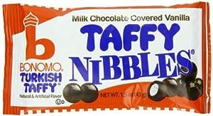 Bonomo Turkish Taffy Nibbles, Vanilla, 1.5 Ounce (Pack of 24)