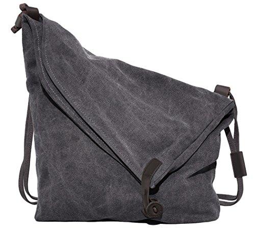 Coofit Hobo Borse a Spalla da Donna Tracolla Borsa Tote Bag Tela Borsetta College Stile Unisex