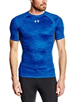 Under Armour Camiseta Técnica HeatGear Armour Printed (Azul Royal)