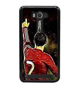 Famous Football Player 2D Hard Polycarbonate Designer Back Case Cover for Asus Zenfone 2 Laser ZE550KL (5.5 INCHES)