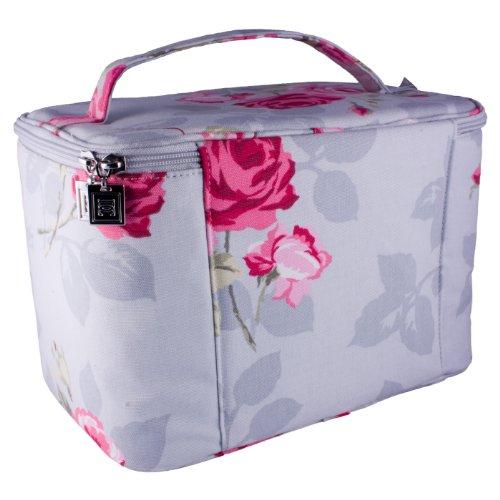 Danielle Elegance Large Weekender Train Case Cosmetics Toiletries Bag